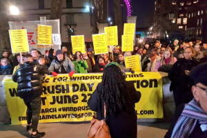 Demonstrations against deportations Twitter