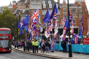 UK Parliament Square October 2019
