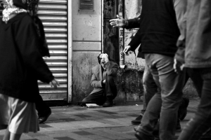 rough sleepers in the UK