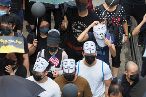 Hong Kong Activists during protests