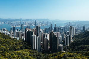 The city of Hong Kong