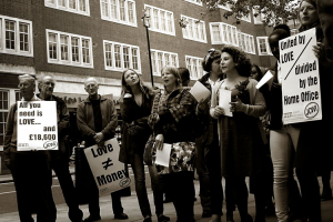 Joint Council for the Welfare of Immigrants protest from 2012.
