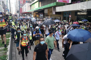Protest against national anthem bill and proposed national security law in Hong Kong, 27 May 2020