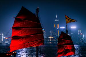 Victoria Habour Hong Kong