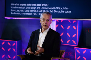 7 November 2017; Julian David, CEO, techUK, at Web Summit 2017 in Lisbon, Portugal