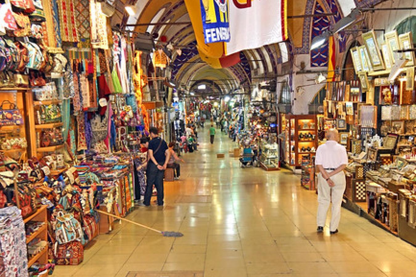 Turkey - Inside the Grand Bazaar