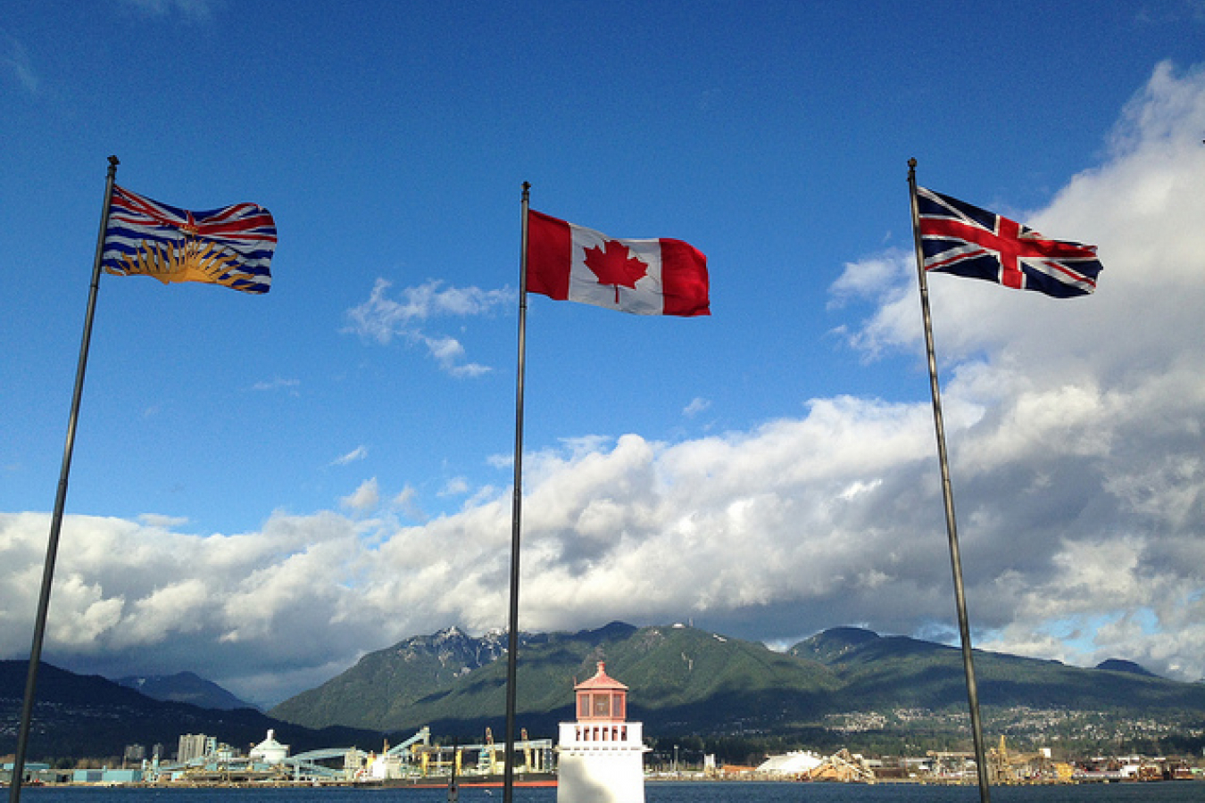 The 3 Flags of British Columbia