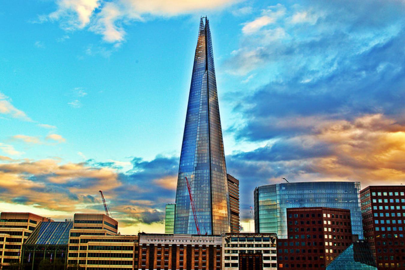 The Shard - Sunset, London, UK
