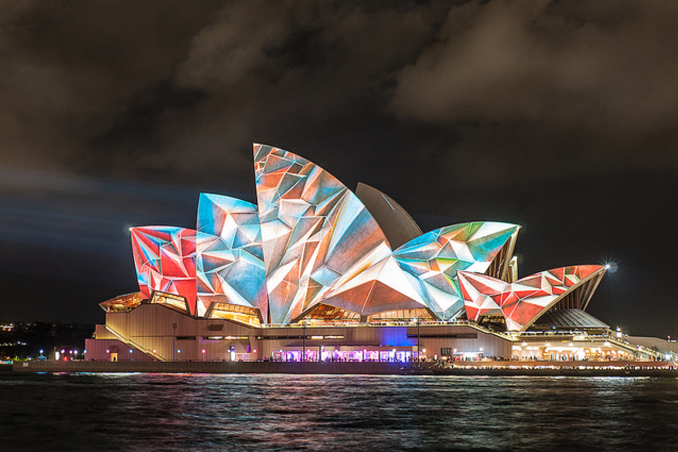 Sydney Opera House, Highlights of Vivid Sydney 2014, Australia
