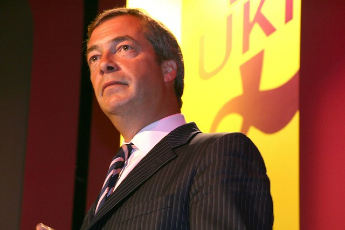 Nigel Farage of Brexit Party. Also founder of UKIP the UK Independence Party.