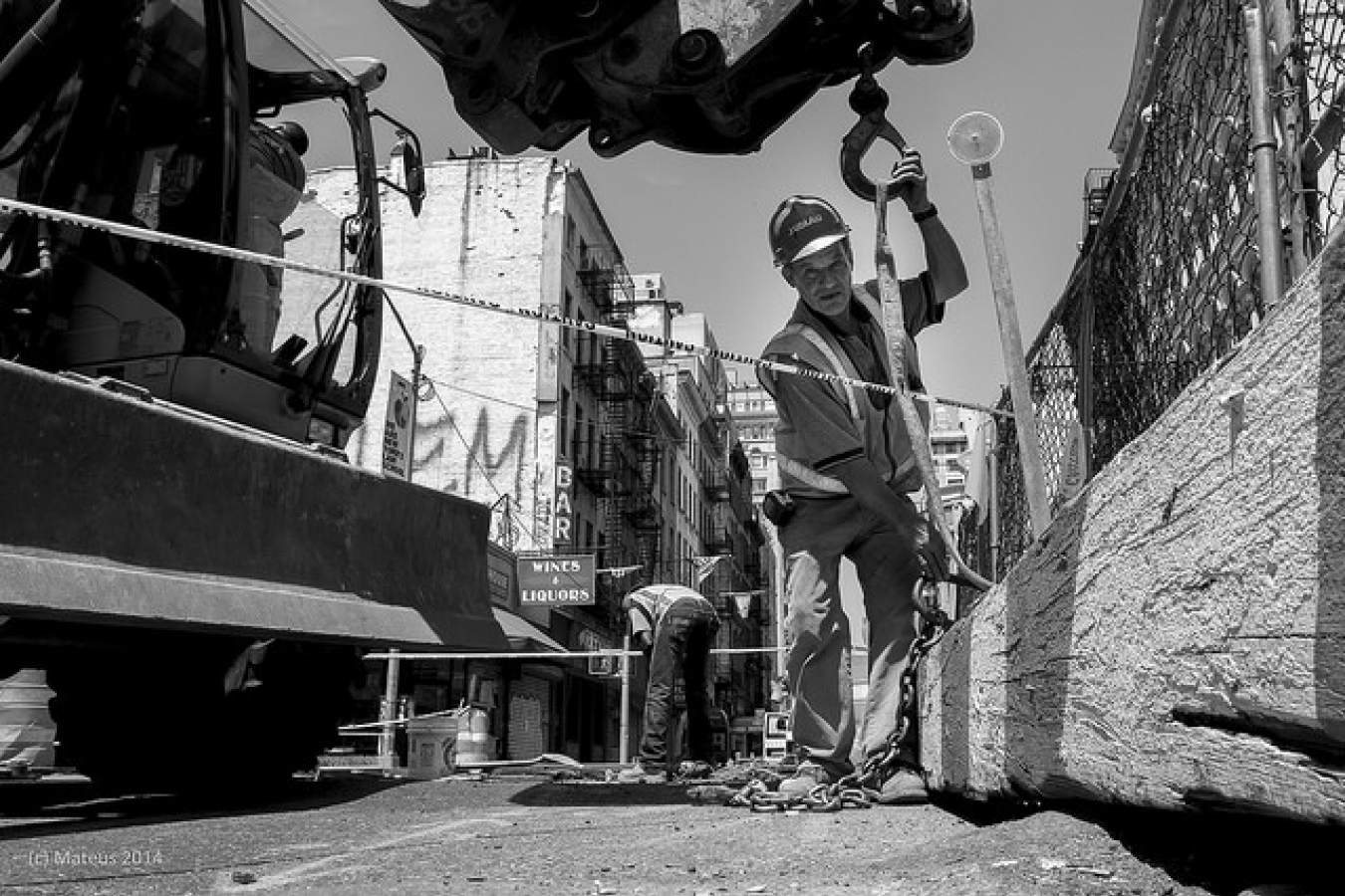 Construction Site in New York