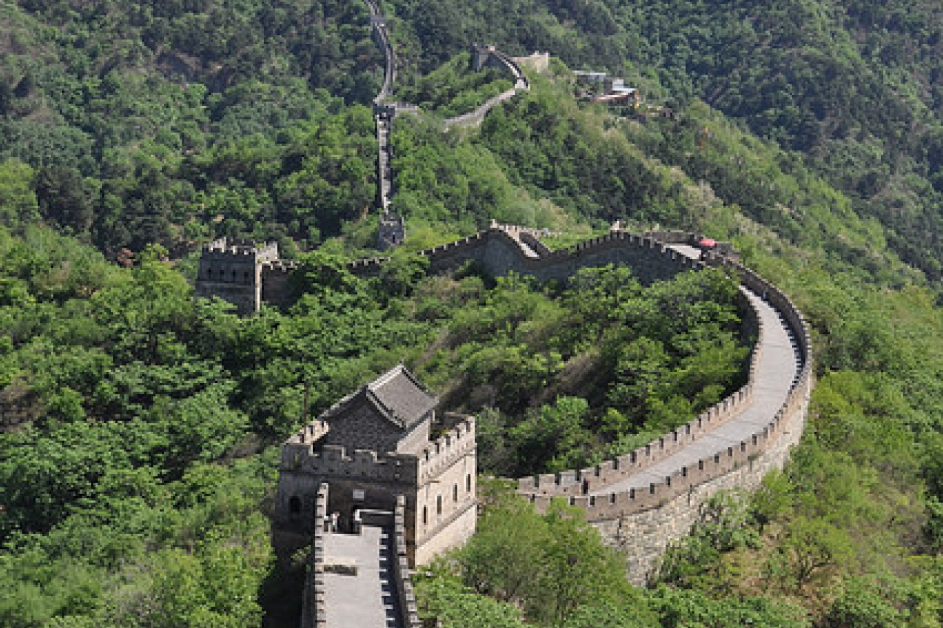 Great Wall of China originally to keep out invaders and for border control
