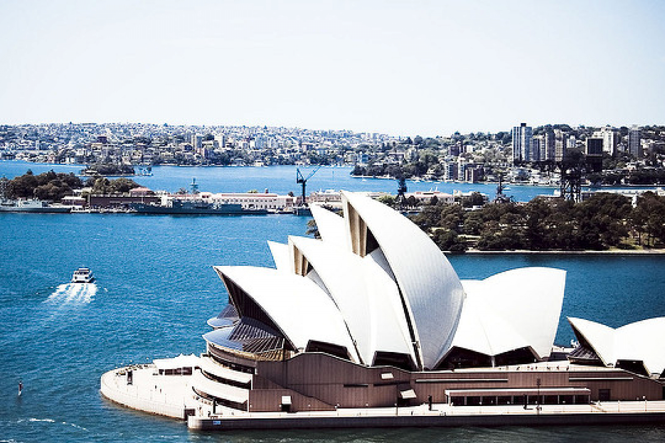Sydney Opera House in the Australian Capital