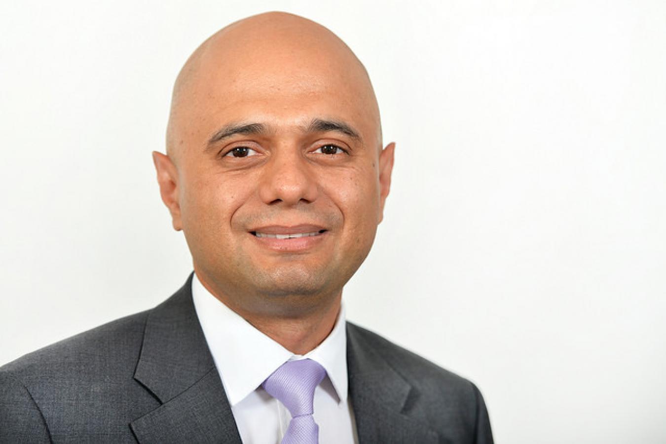 Sajid Javid current Home Secretary