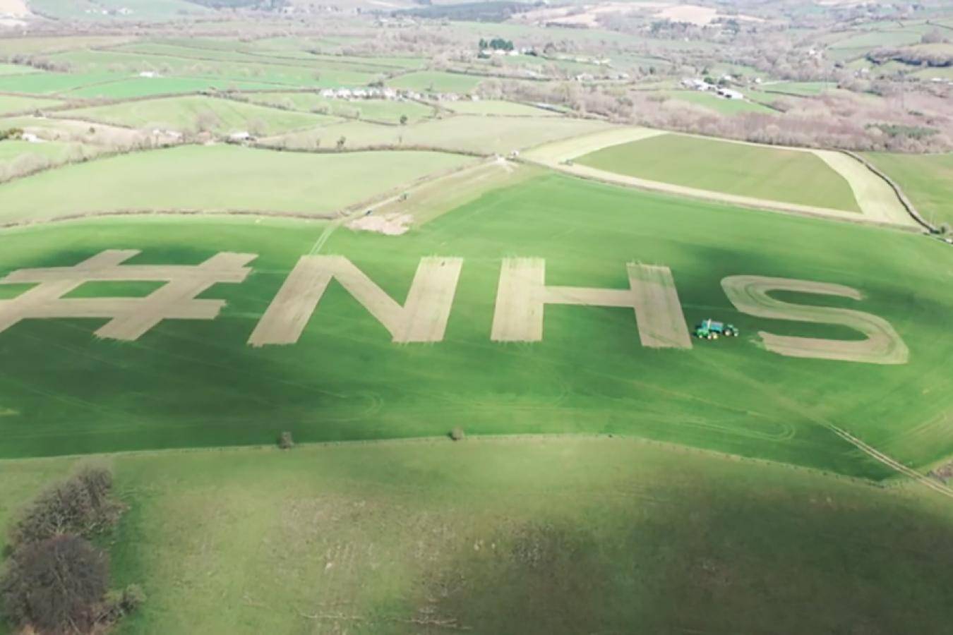 Devon Farmer NHS Tribute March 2020