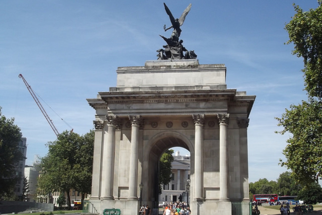 Wellington Arch - Hyde Park Corner, London