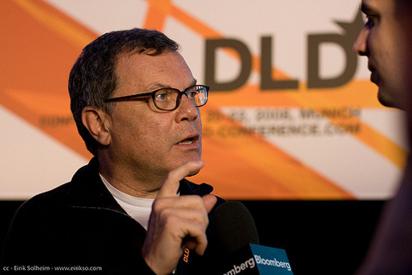 Sir Martin Sorrell head of WPP who is of jewish ancestry and whose family was from Russia, Poland and Romania