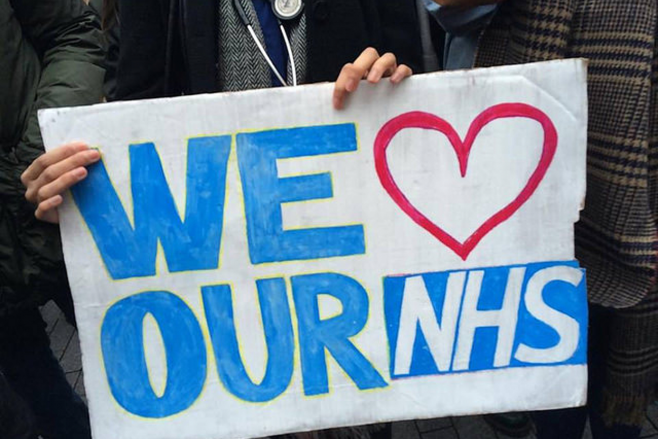 We Lover our NHS Junior Doctors Protest