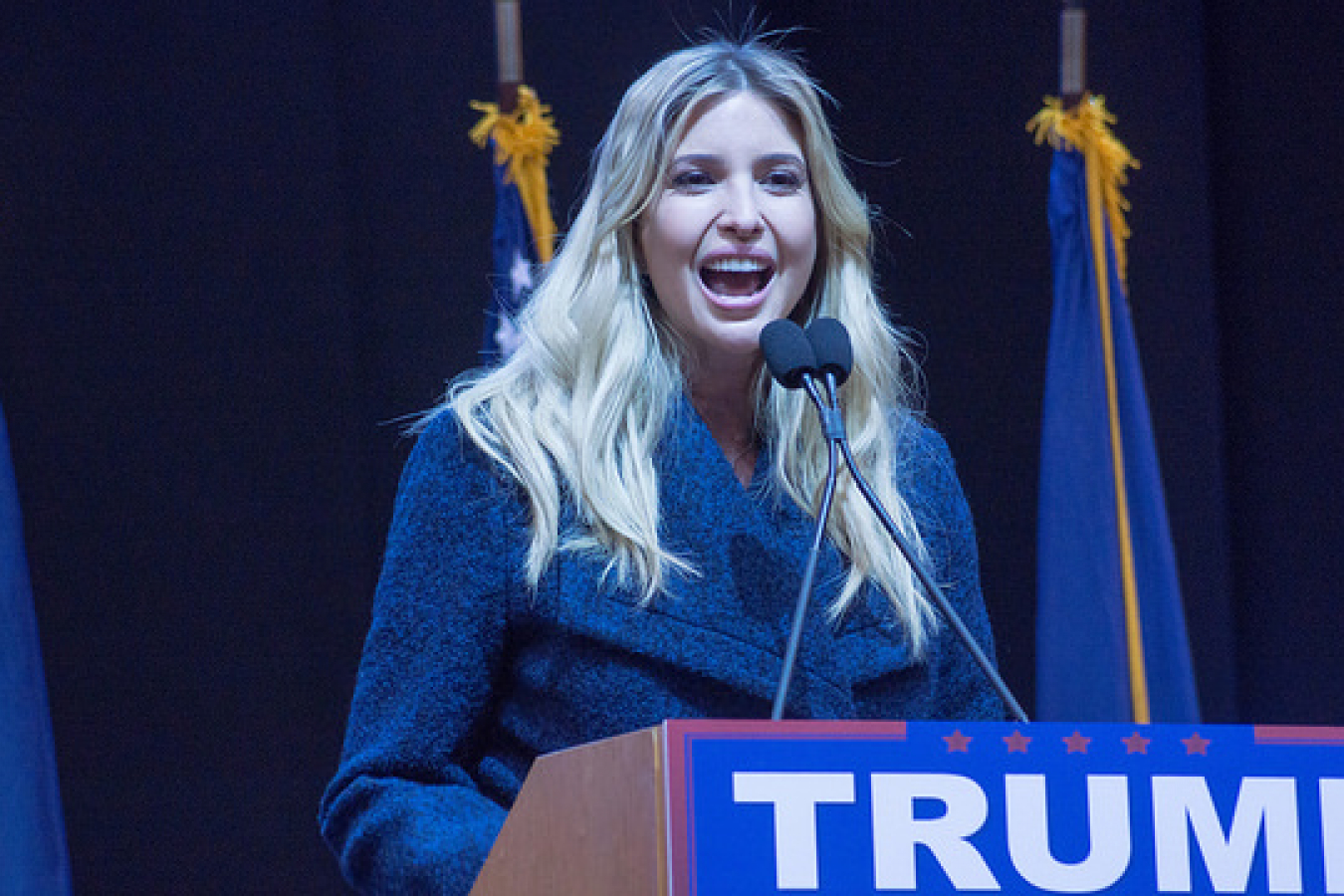 Ivanka Trump - Daughter and adviser to Donald Trump