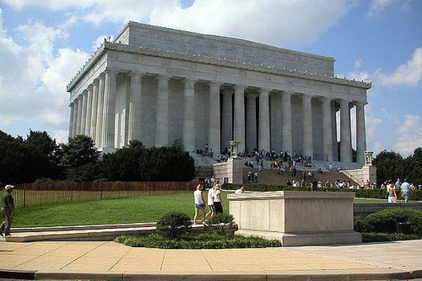 Lincoln Memorial Front