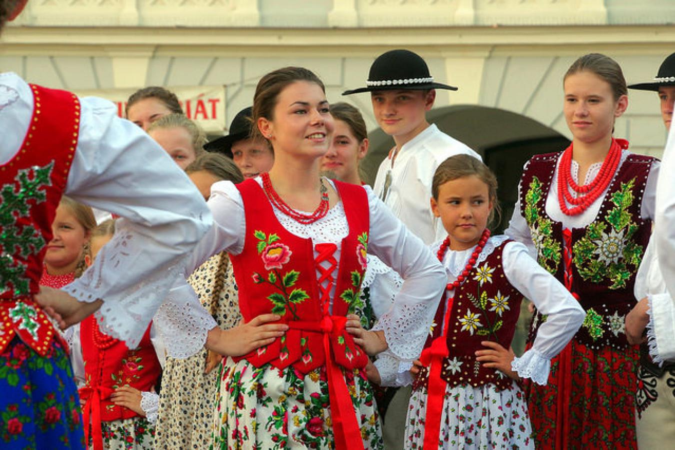 Polish Traditional Dress 18.8.16 Svatek Casu CB 117