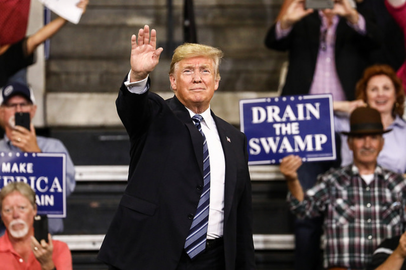 President Trump MAGA rally, Billings, Mont - 2