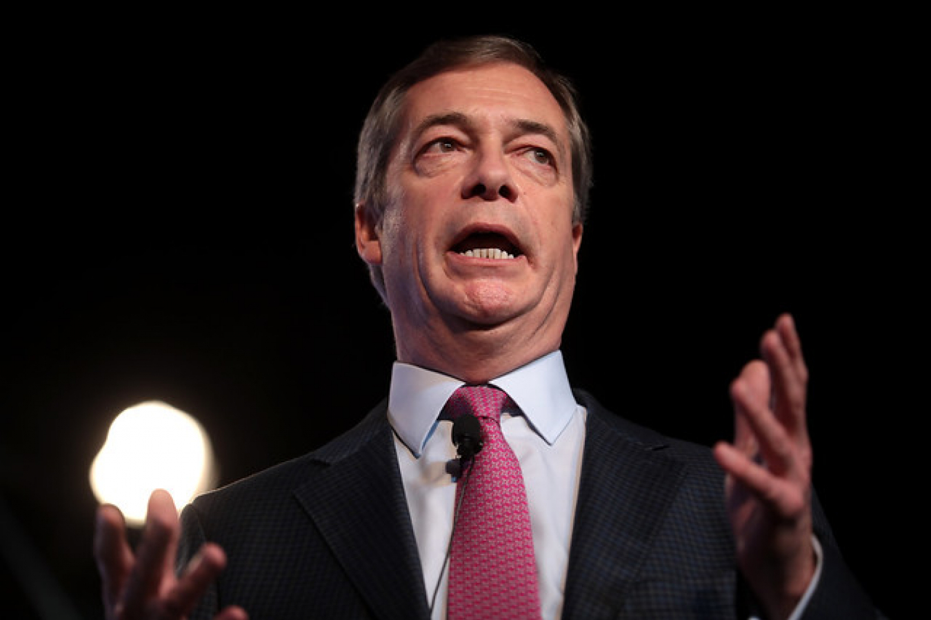 Nigel Farage, Leader of Brexit Party