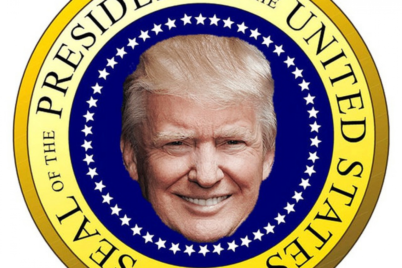 Donald trump takes aim at us l1b visa extensions making them more president trump seal thecheapjerseys Gallery