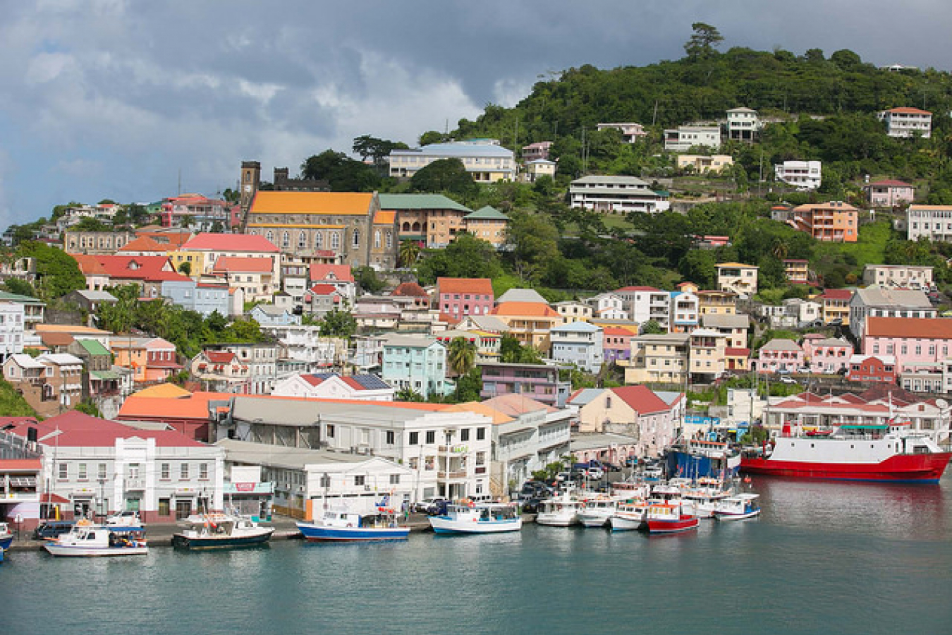 St. George's Harbor, Grenada