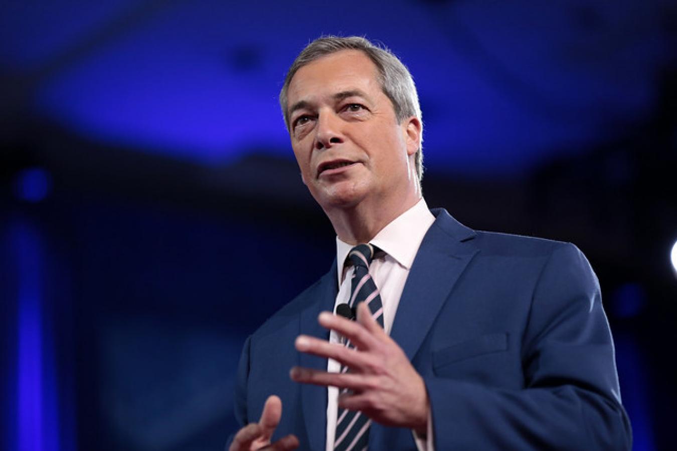 Nigel Farage Leader of Brexit Party and founder of UKIP
