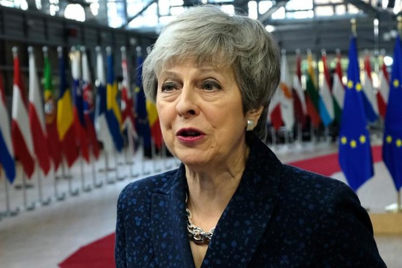 Theresa May Brexit deal not agreed by UK Parliament
