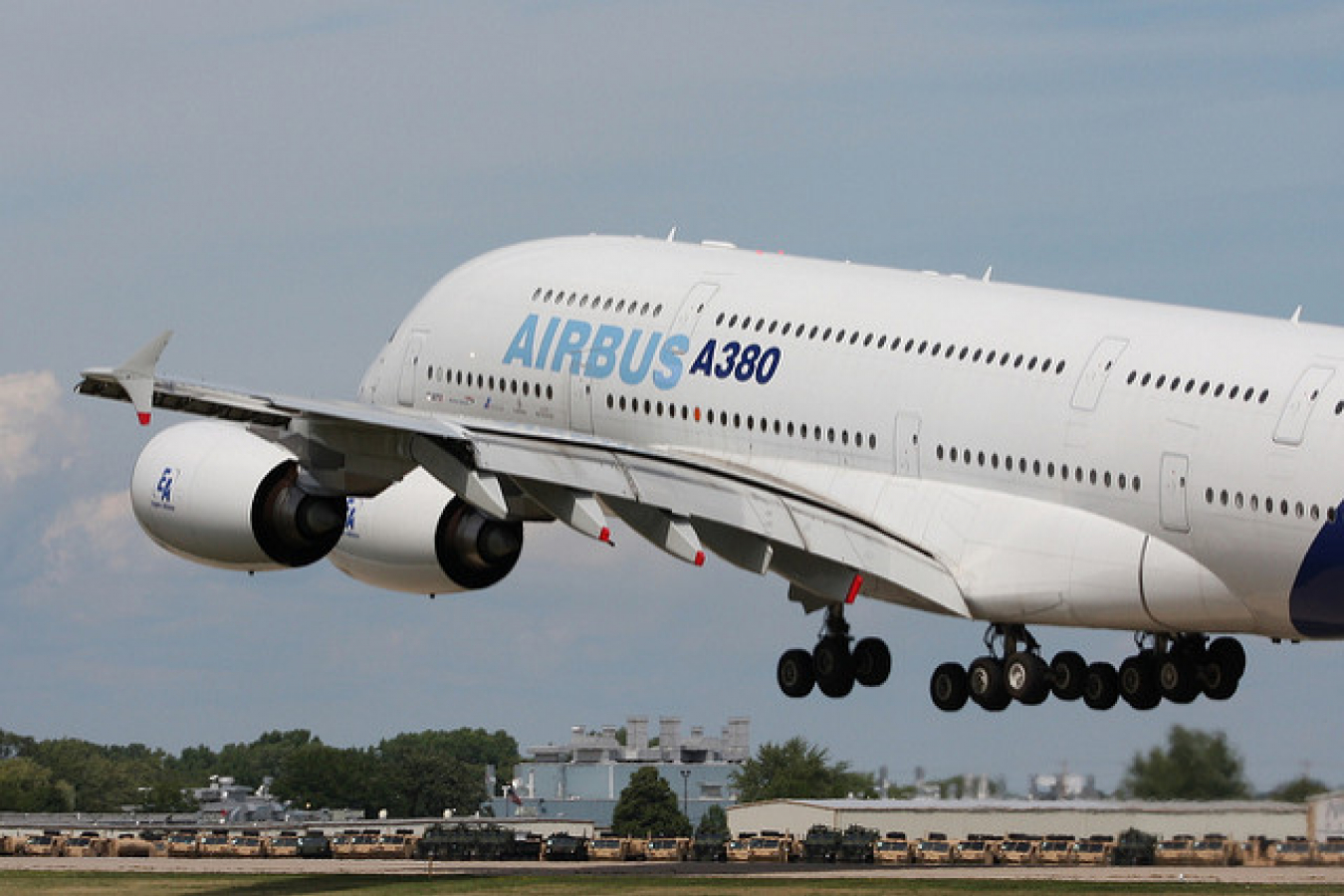 European made Airbus A380 the biggest passenger aircraft in the World