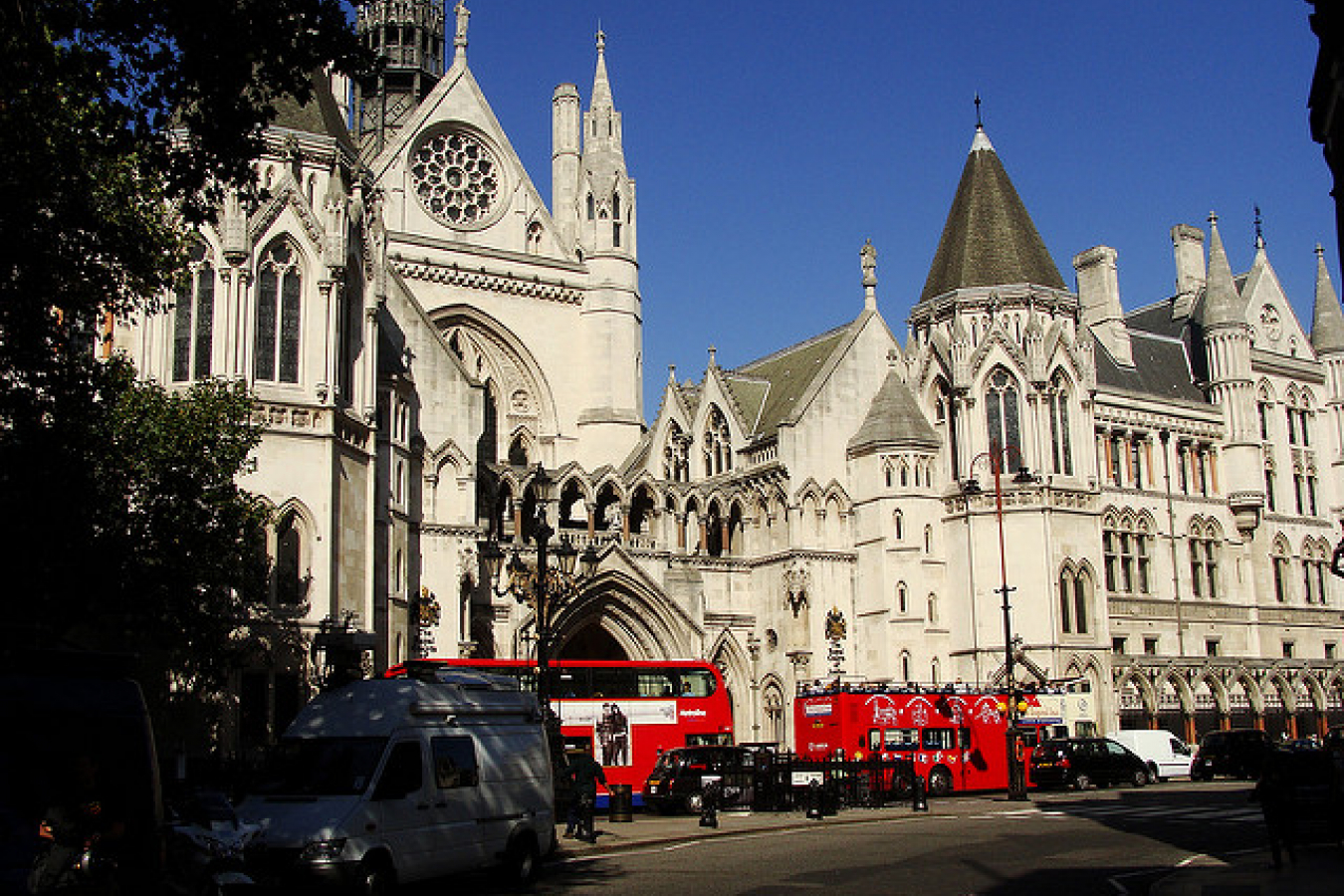 The Royal Court of Justice in the Strand