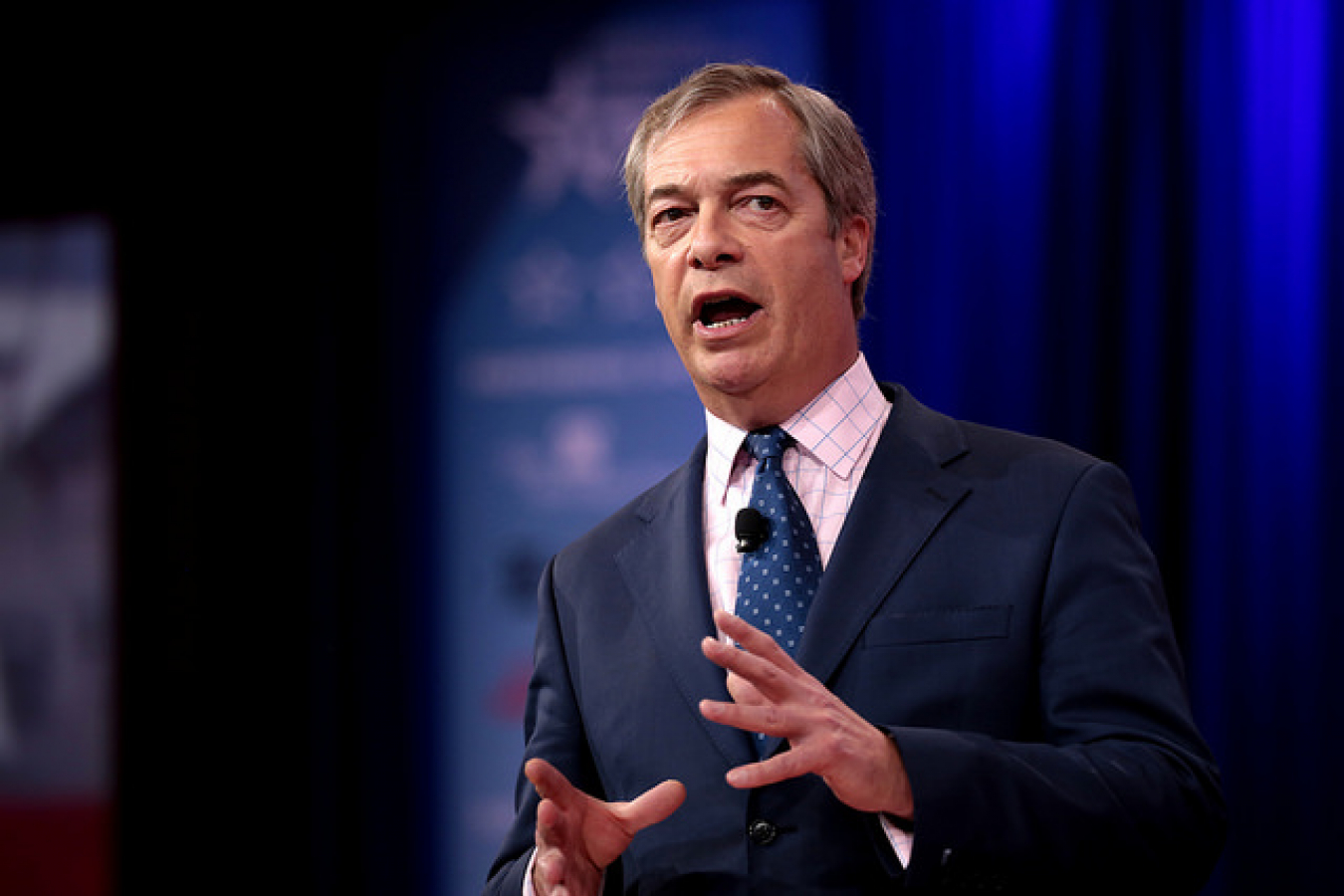 Nigel Farage, former leader UKIP
