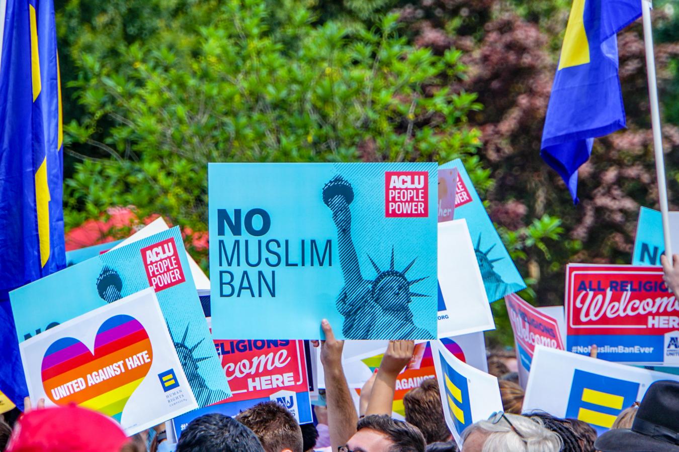 26 June 2018 Muslim Ban Decision Day, Supreme Court, Washington, DC USA