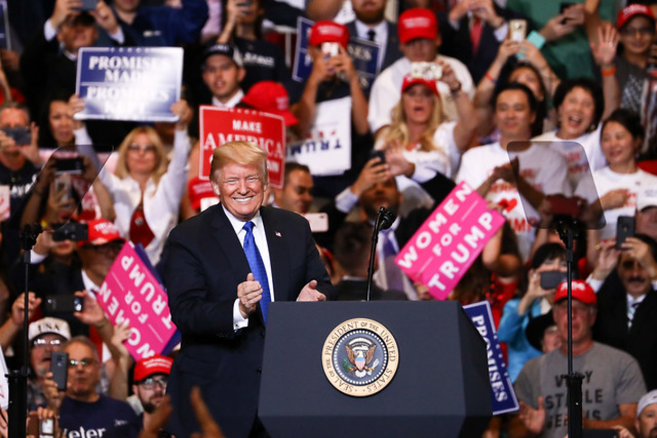 Trump MAGA rally in Las Vegas