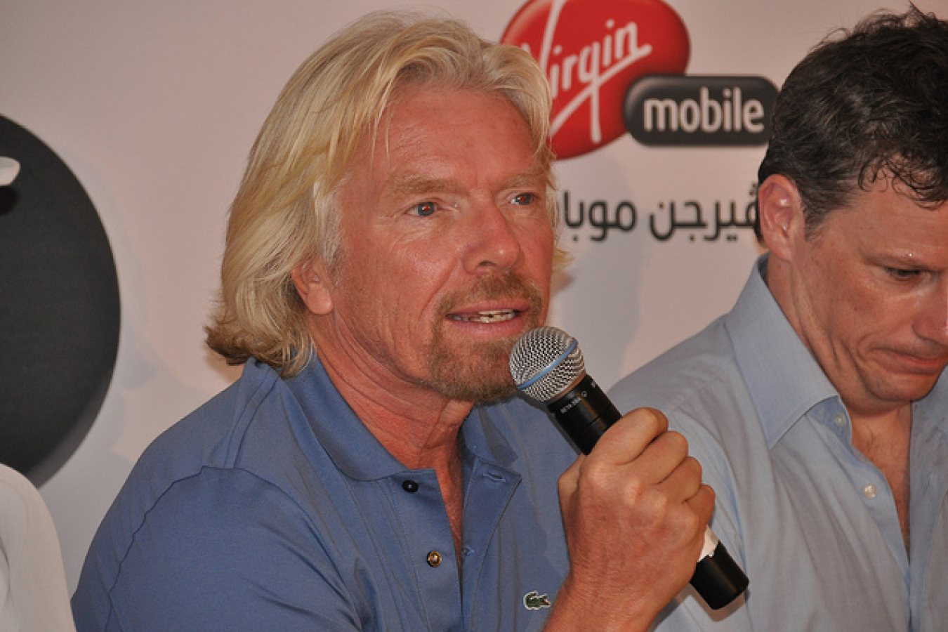 Sir Richard Branson founder of Virgin known for his pro Migrant views