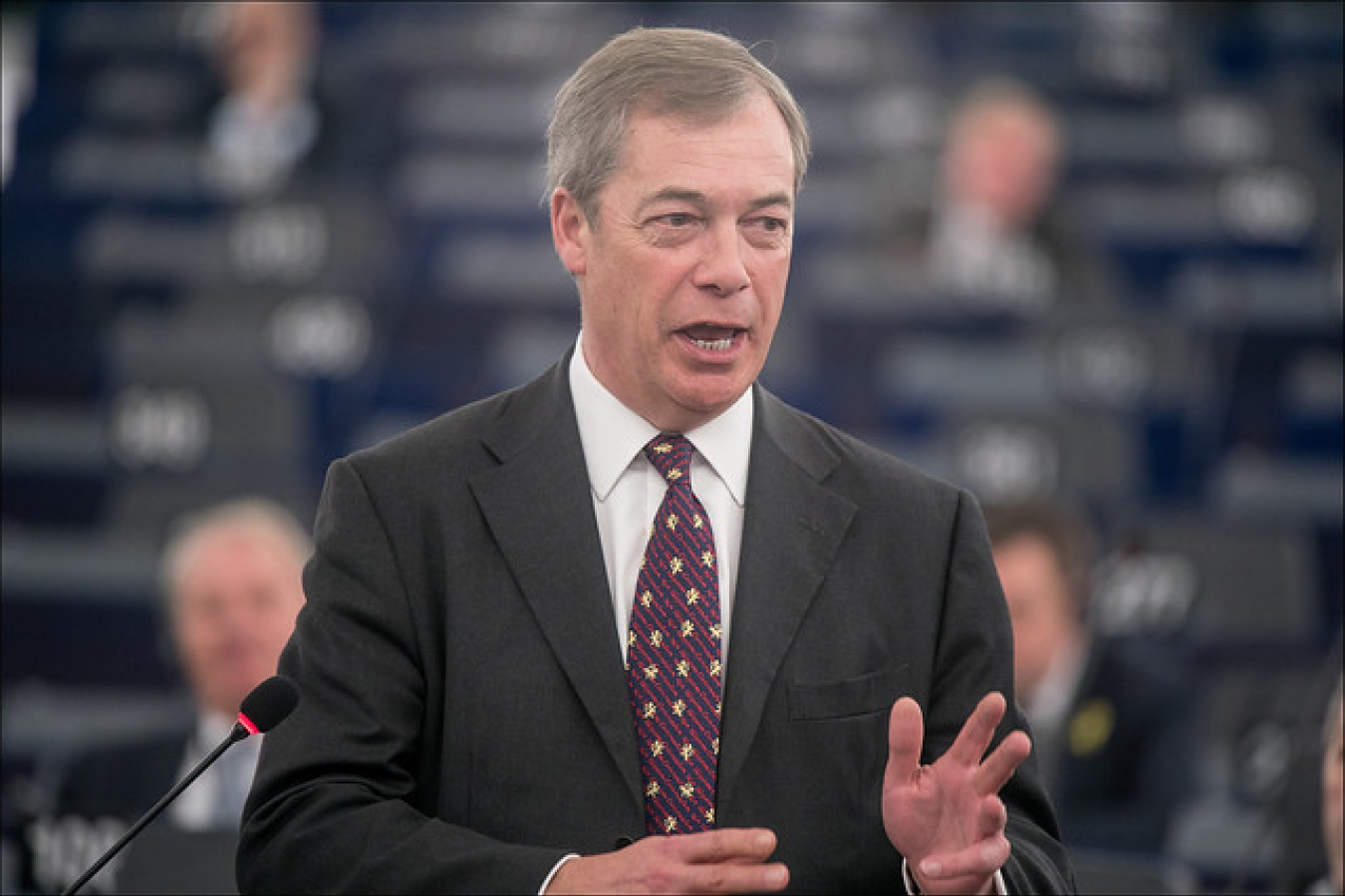 NIgel Farage of Brexit Party