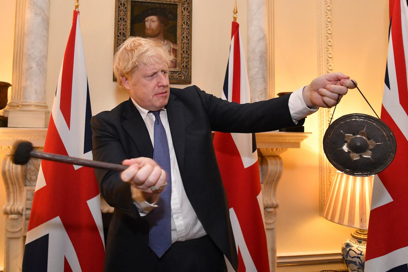 Boris Johnson Brexit Day 31 January 2020