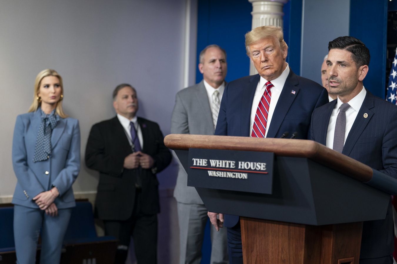 White House Briefing with Acting Secretary of Homeland Security Chad F. Wolf 20 March 2020