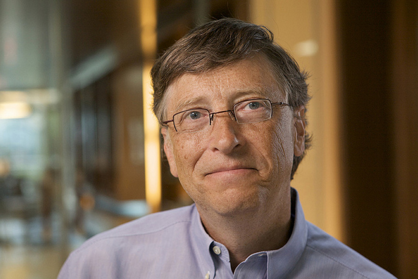 Bill Gates Microsoft Founder - OnInnovation.com Interview supports H1B and L1 Visa Scheme