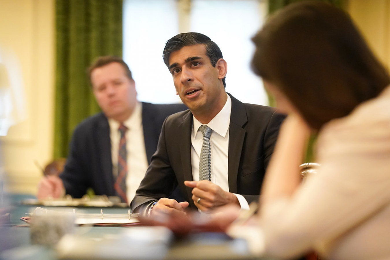 Rishi Sunak and Boris Johnson briefing to Cabinet ahead of summer statement 8 July 2020