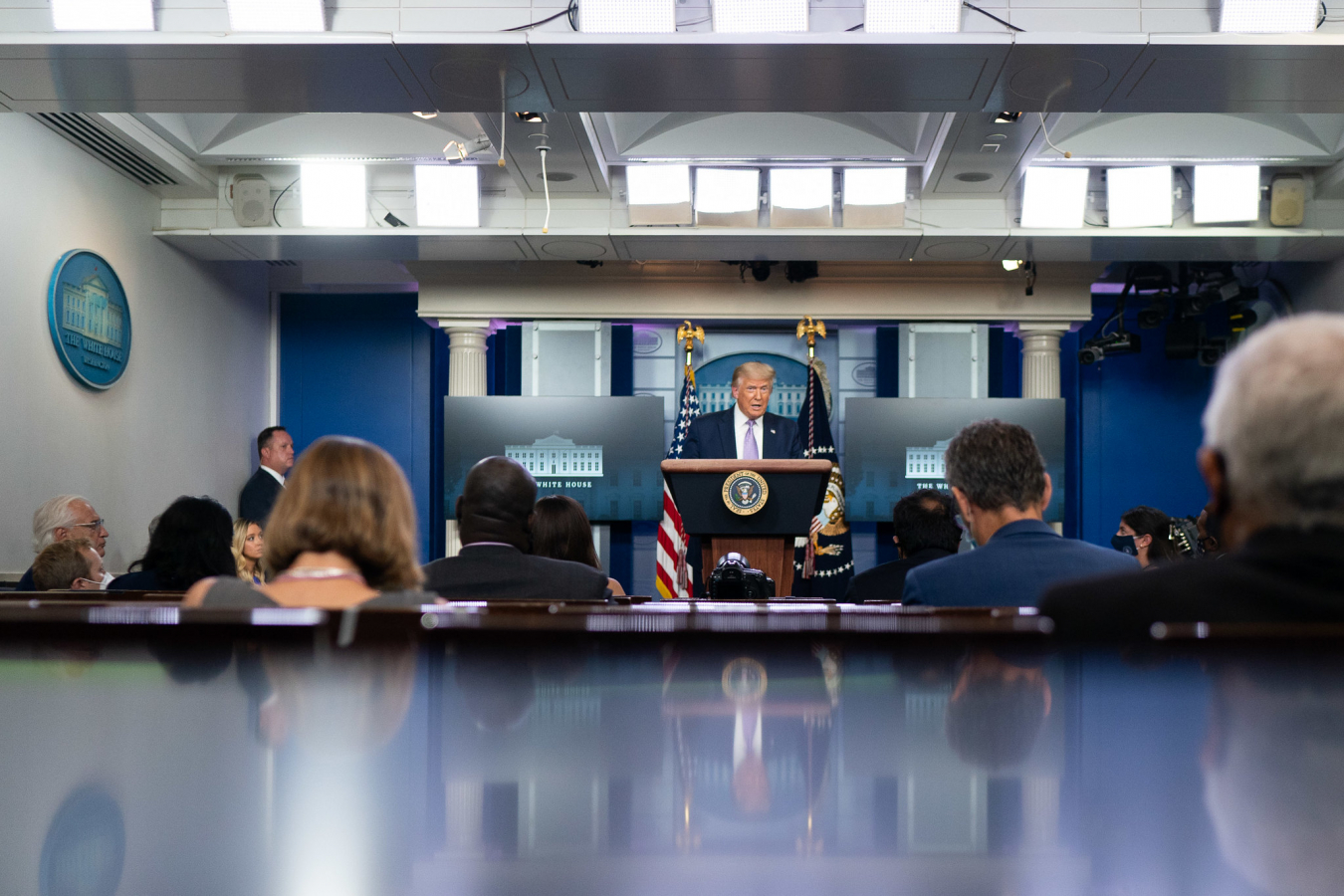 Trump White House Briefing 13 August 2020