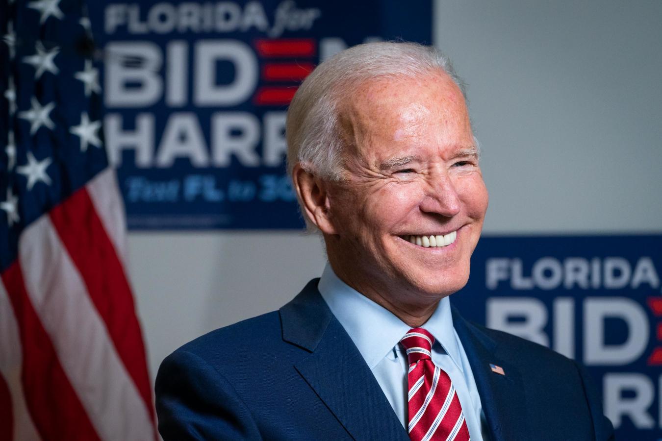 Joe Biden, Tampa, Florida 15 September 2020