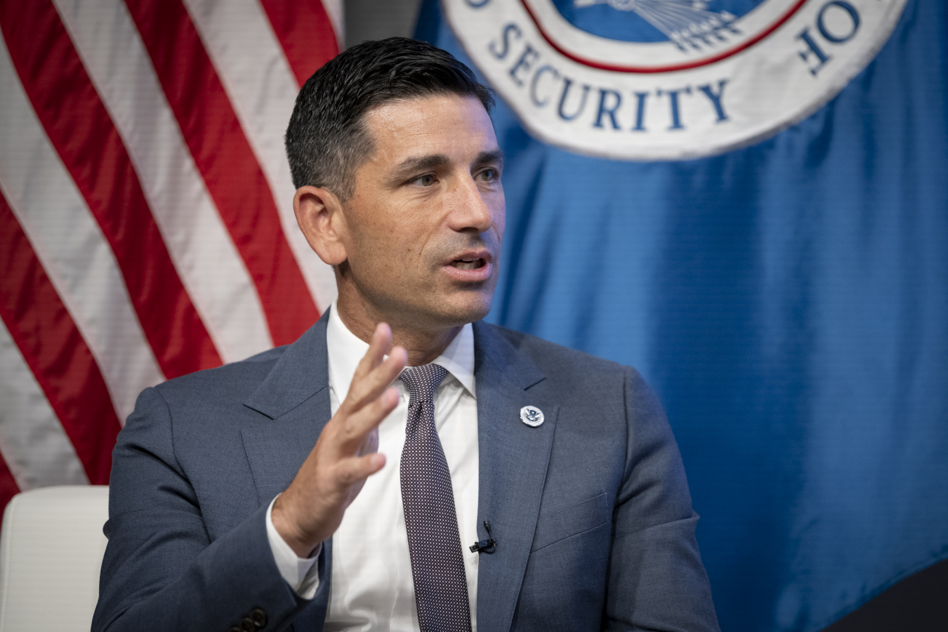 Acting Secretary Homeland Security, Chad Wolf Speaks With The Heritage Foundation 25 September 2020