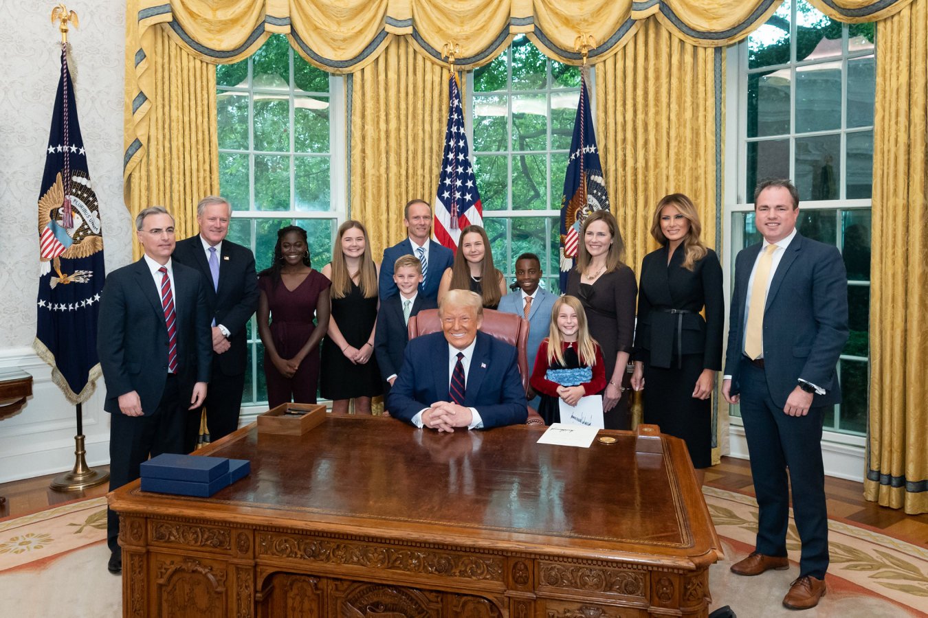 President Trump Nominates Judge Amy Coney Barrett for Associate Justice of the U.S. Supreme Court 26 September 2020