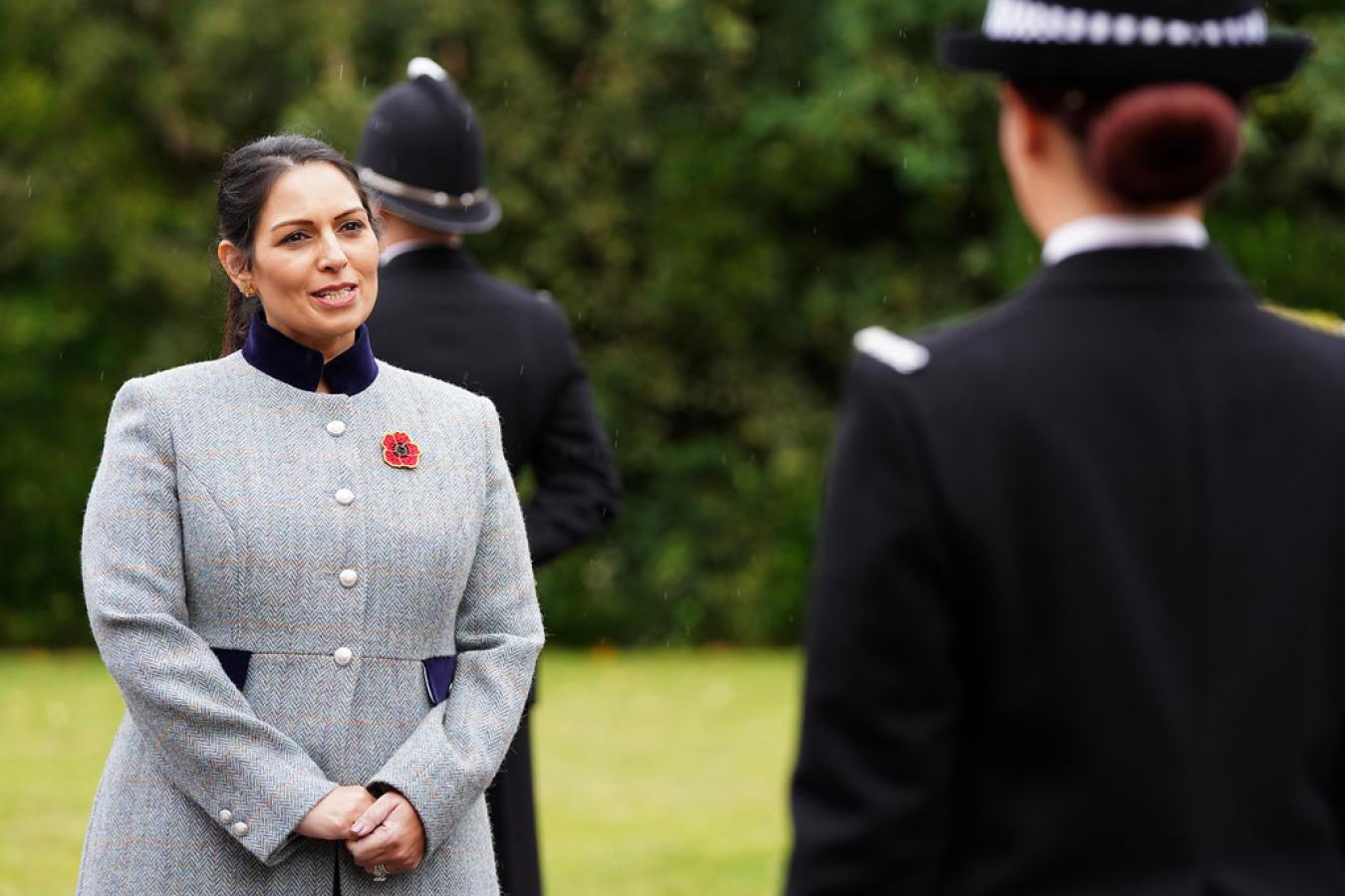 Priti Patel, Home Secretary, Essex Police Pass Out Parade 29 October 2020
