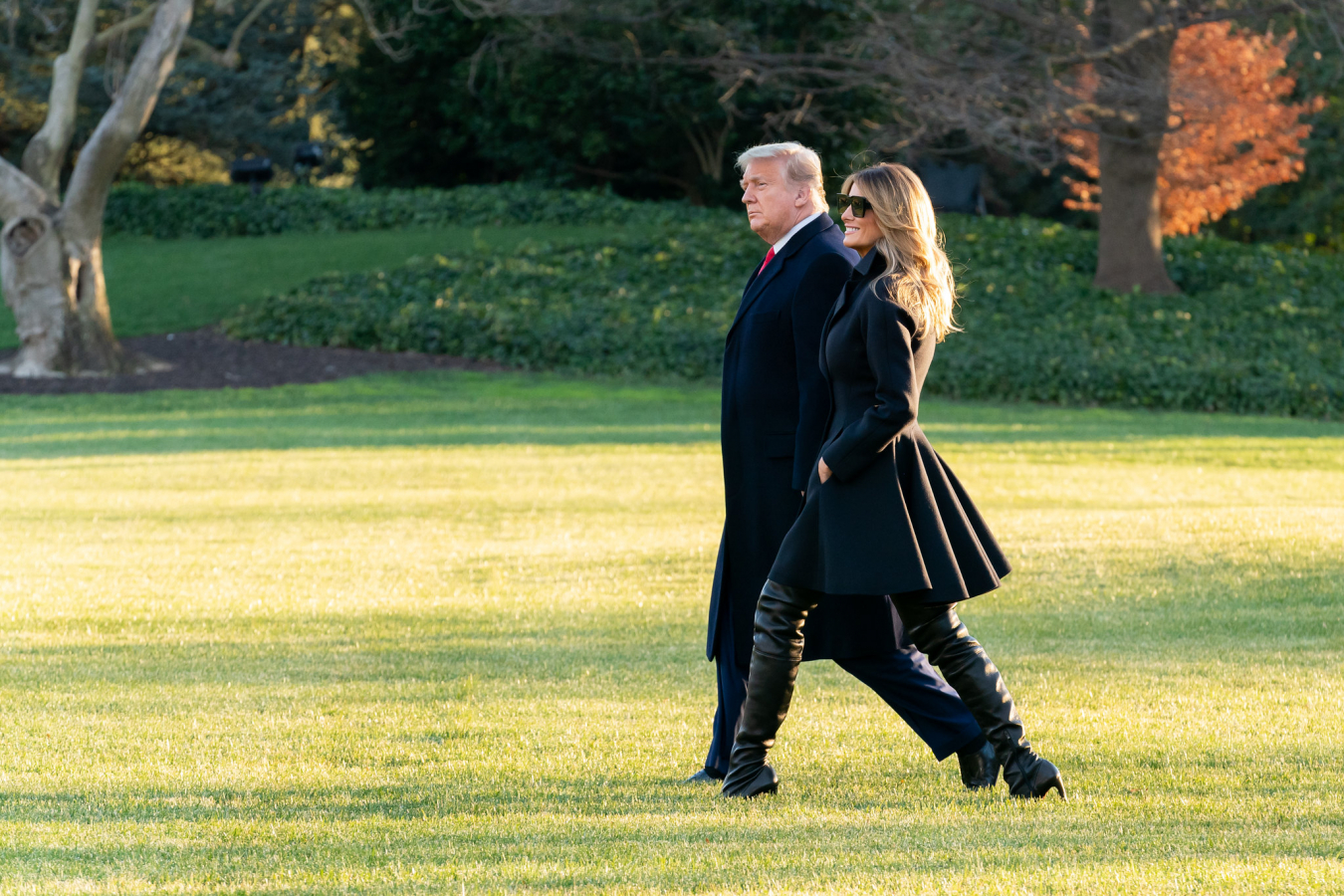 President Trump and the First Lady Depart for Florida 23 12 20