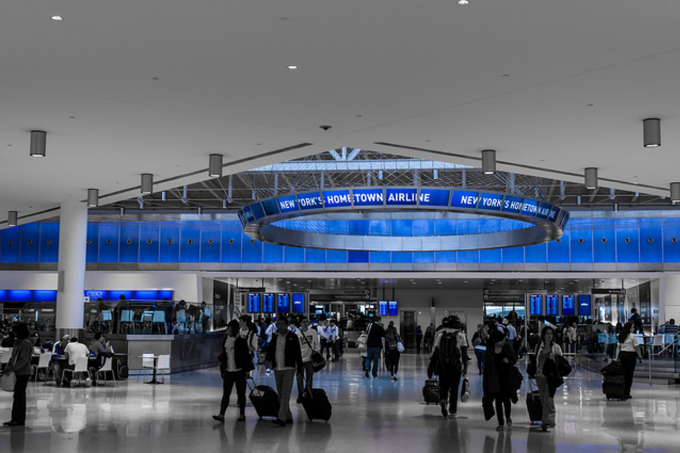 JFK International Airport, New York, USA