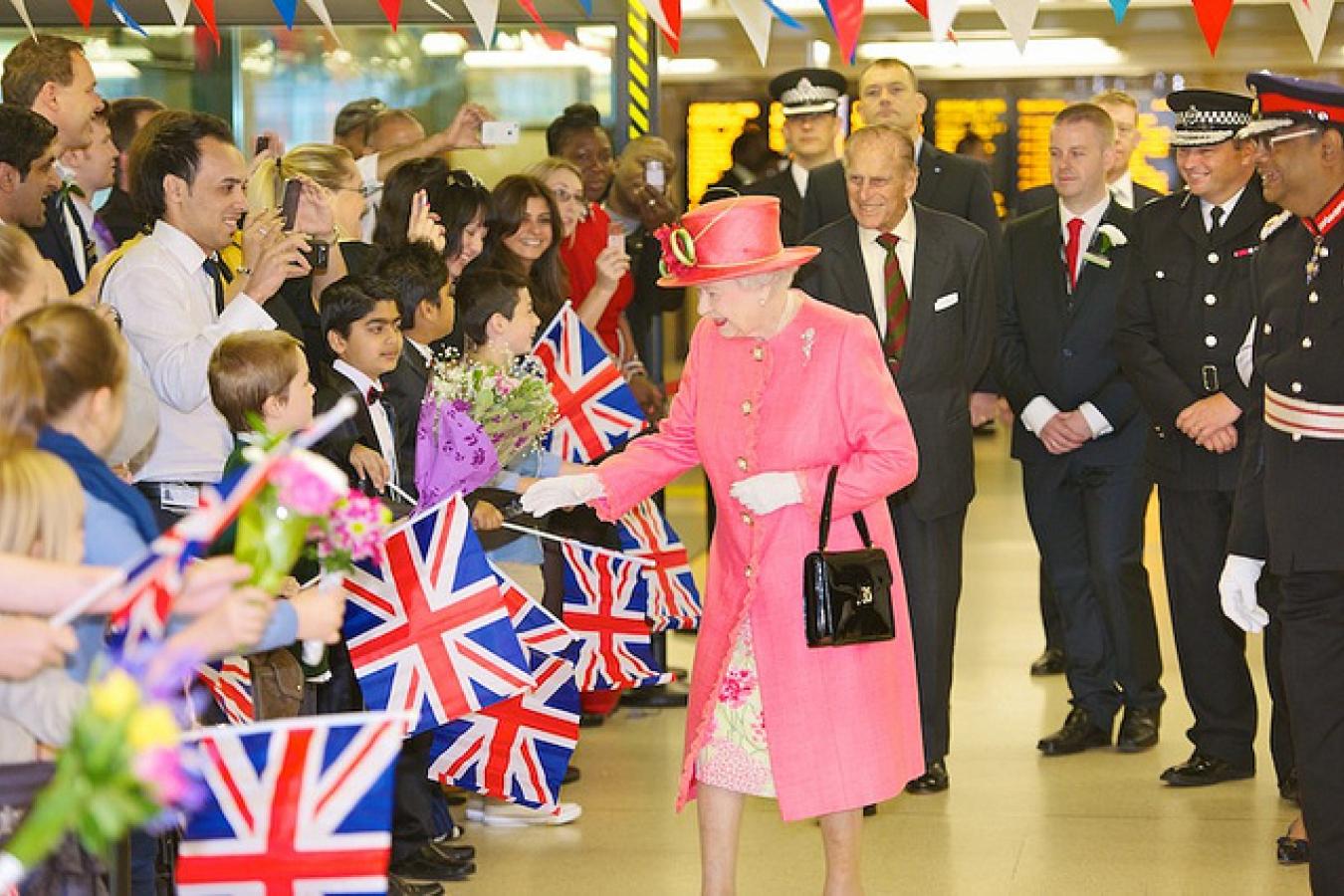 Queen Elizabeth II of UK Day 194 - West Midlands Police - Royal Diamond Jubilee Visit